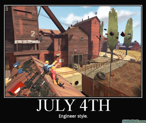 JULY 4TH - Engineer style.