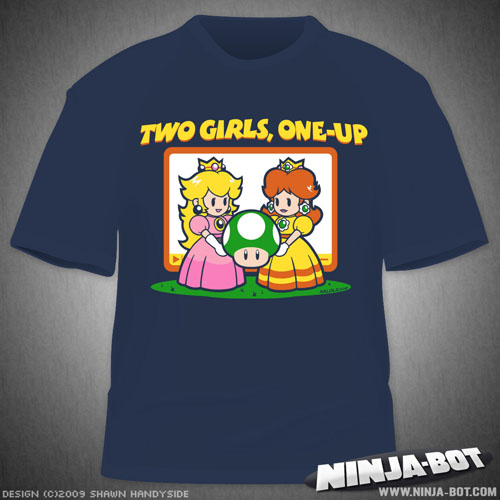 Two Girls, One-Up T-Shirt