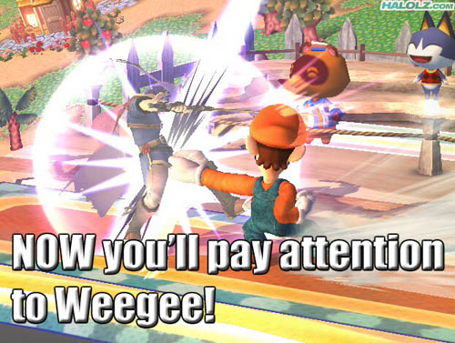 NOW you'll pay attention to Weegee!