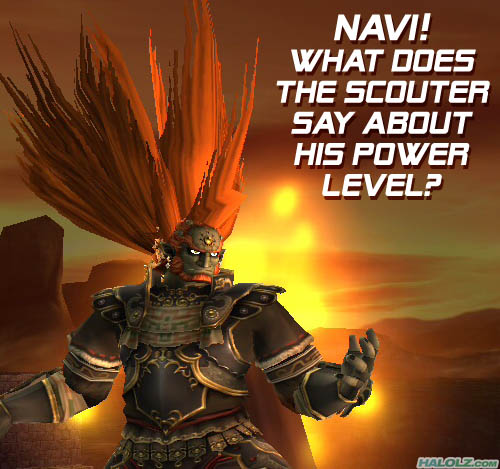 NAVI! WHAT DOES THE SCOUTER SAY ABOUT HIS POWER LEVEL?