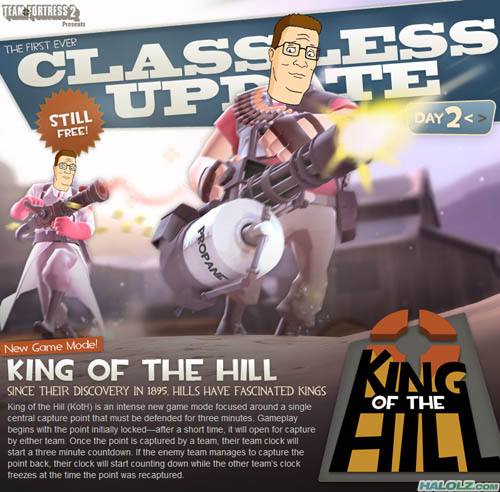CLASSLESS UPDATE - KING OF THE HILL