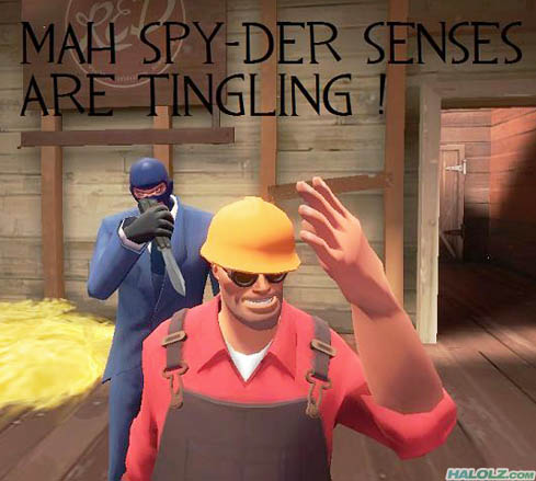 MAH SPY-DER SENSES ARE TINGLING !