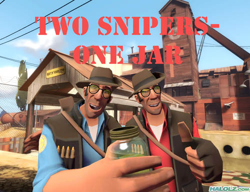 TWO SNIPERS-ONE JAR