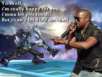 Yo Wolf, i'm really happy for you, i'mma let you finish… But I can't let YOU do that!