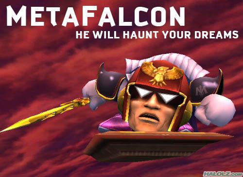METAFALCON - HE WILL HAUNT YOUR DREAMS