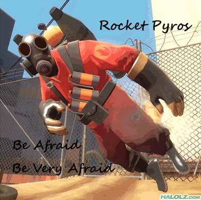 Rocket Pyros