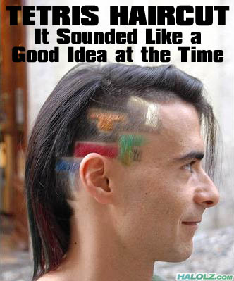 TETRIS HAIRCUT - It Sounded Like a Good Idea at the Time