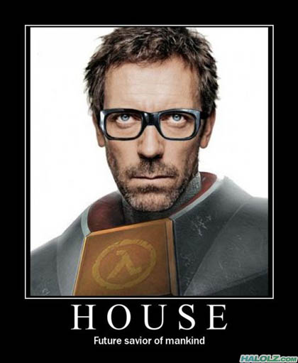 HOUSE - Future savior of mankind