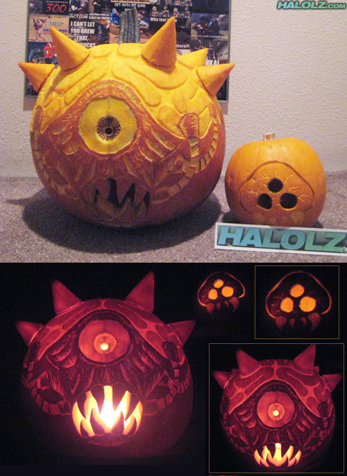HALOLZWEEN 2009 - Mother Brain and Baby Metroid