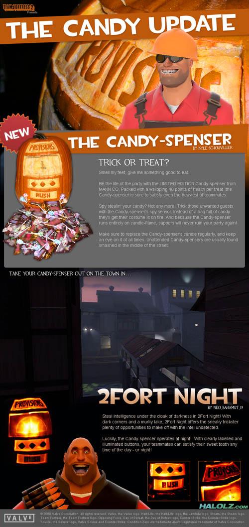 HALOLZWEEN 2009 - Candy-spenser