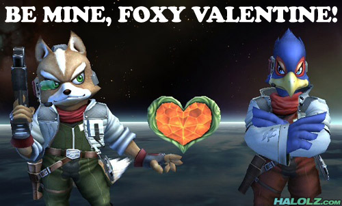 BE MINE, FOXY VALENTINE!