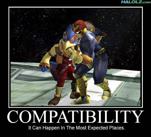 COMPATIBILITY - It Can Happen In The Most Expected Places.