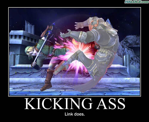 KICKING ASS - Link does.