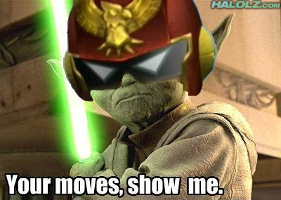 Your moves, show me.