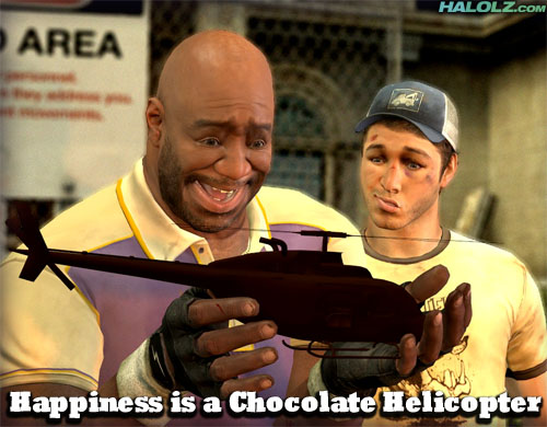 Happiness is a Chocolate Helicopter