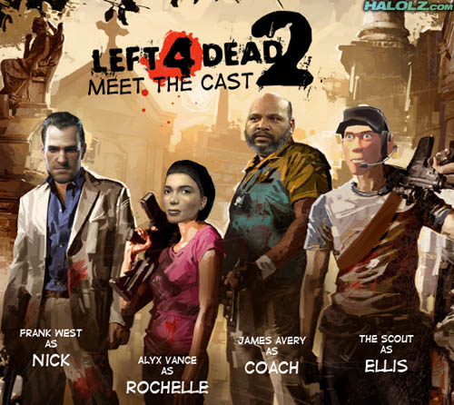 LEFT4DEAD2 - MEET THE CAST
