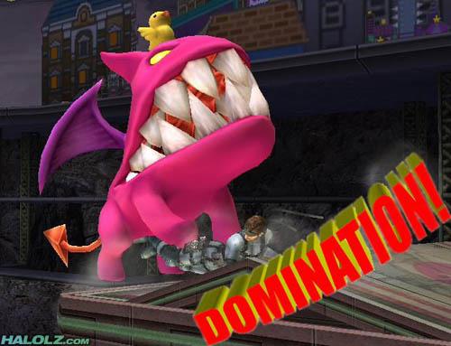 DOMINATION!