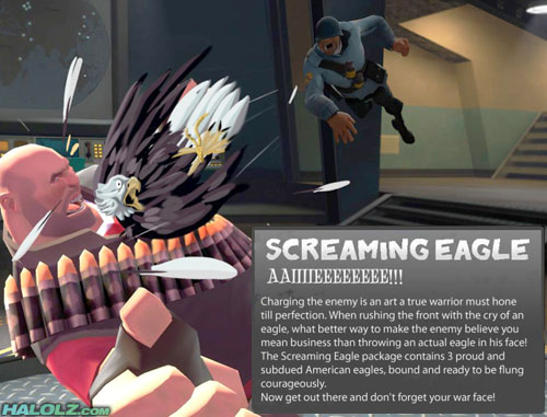SOLDIER UPDATE - SCREAMING EAGLE