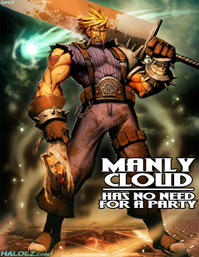 MANLY CLOUD HAS NO NEED FOR A PARTY