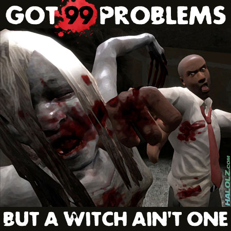 GOT 99 PROBLEMS BUT A WITCH AIN'T ONE (SPRAY)