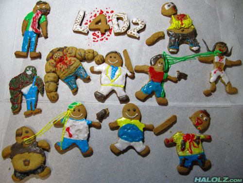 L4D2 Gingerbread Men