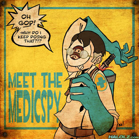 MEET THE MEDICSPY