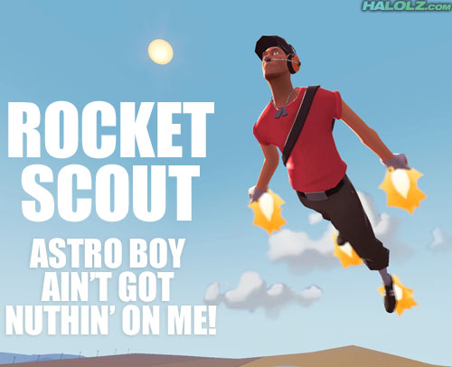 ROCKET SCOUT - ASTRO BOY AIN'T GOT NUTHIN' ON ME!