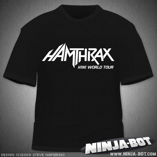 """Hamthrax"" T-Shirt"