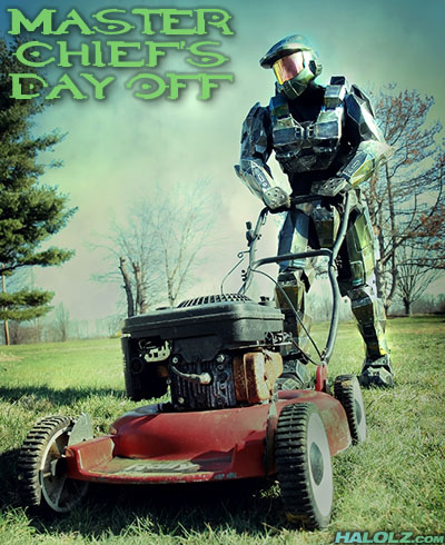 MASTER CHIEF'S DAY OFF