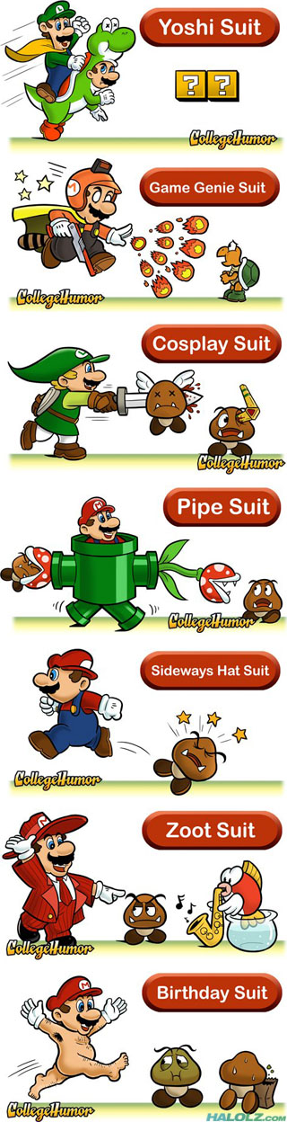 7 Mario Suits I Wish Were Real