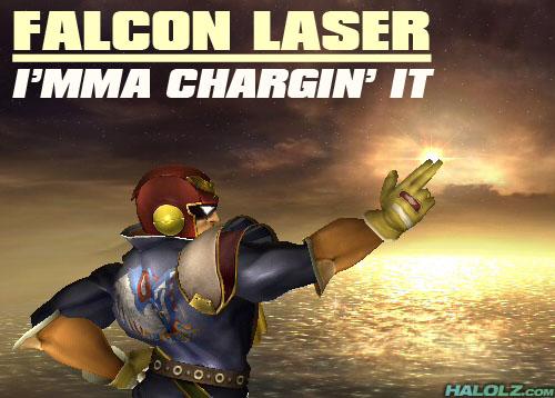 FALCON LASER - I'MMA CHARGIN' IT