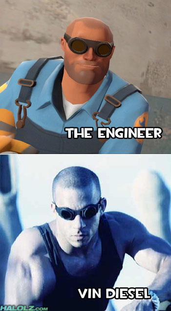 THE ENGINEER / VIN DIESEL
