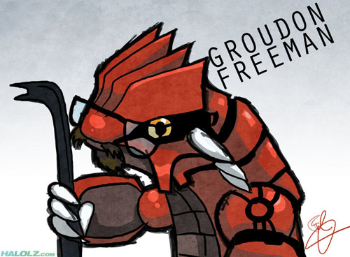 GROUDON FREEMAN