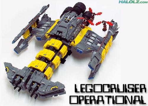 LEGOCRUISER OPERATIONAL