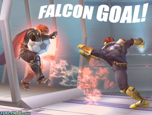 FALCON GOAL!