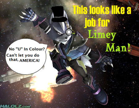 This looks like a job for Limey Man!
