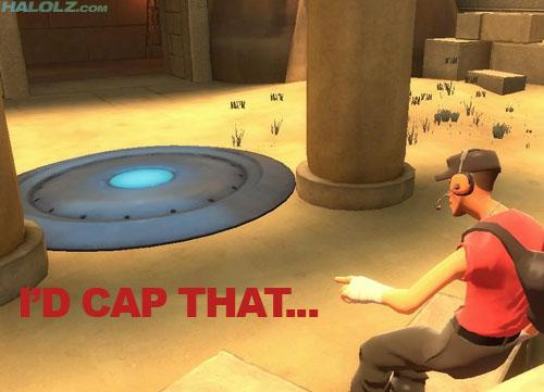 I'D CAP THAT...