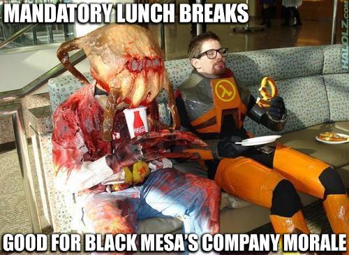 MANDATORY LUNCH BREAKS