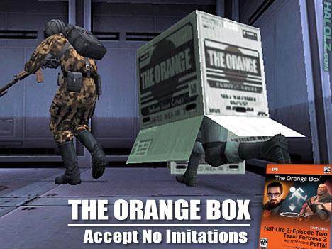 THE ORANGE BOX - Accept No Imitations