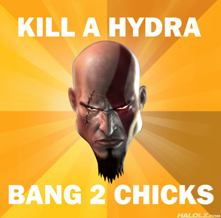 KILL A HYDRA, BANG 2 CHICKS
