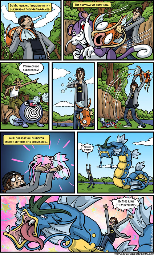 Pokemon Magikarp / Gyarados Comic