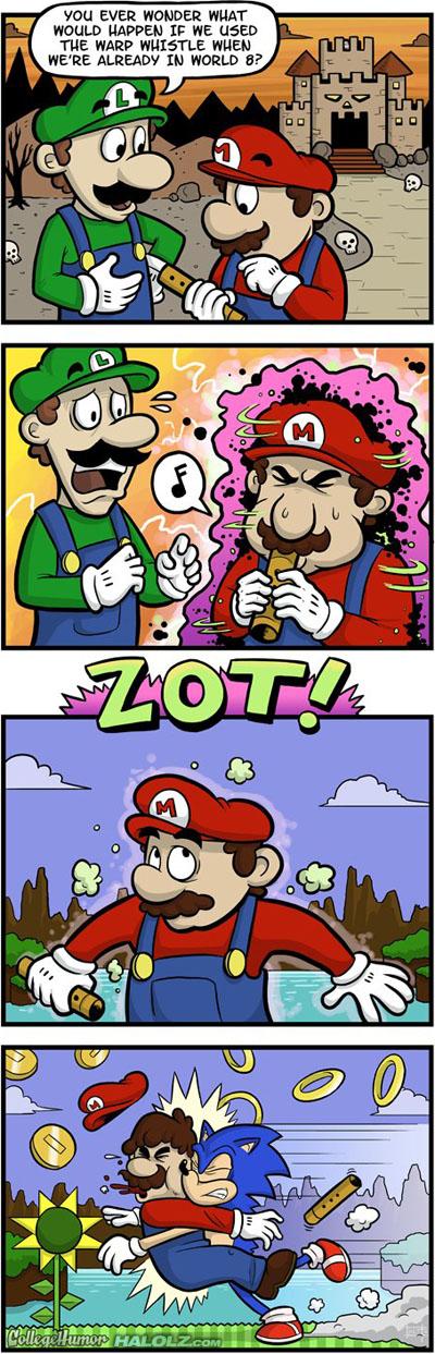 Secrets of the Warp Whistle (Comic)