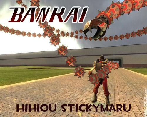 Bankai Hihiou Stickymaru