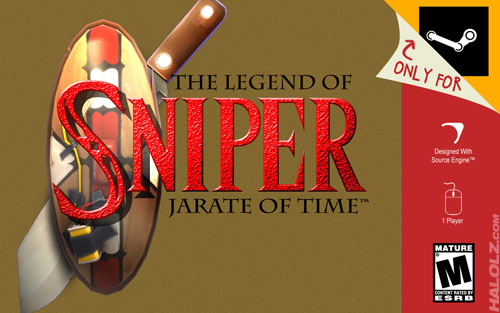 THE LEGEND OF SNIPER - JARATE OF TIME