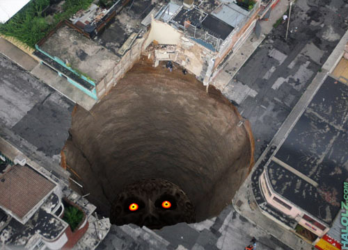 How the Guatemalan sinkhole really happened