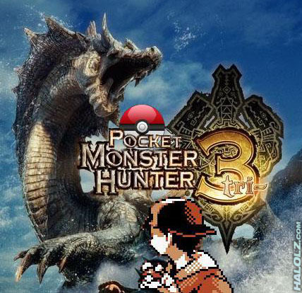 Pocket Monster Hunter Tri