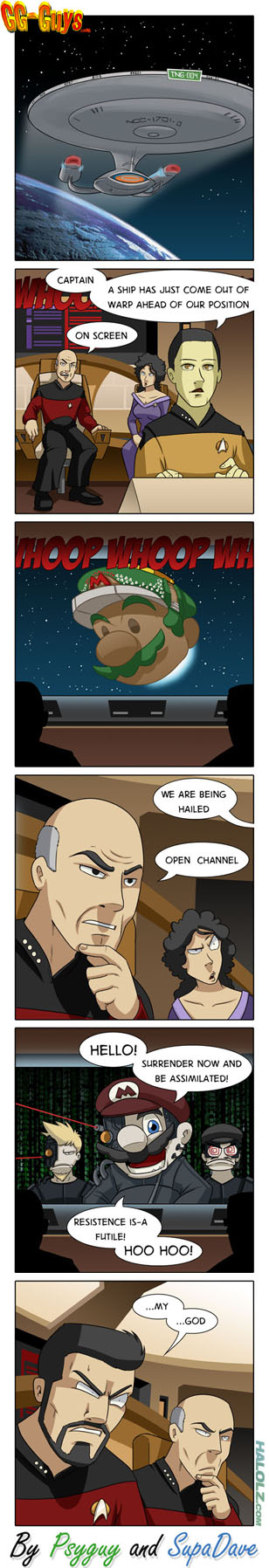RESISTANCE IS-A FUTILE! Super Mario Galaxy 2 Comic