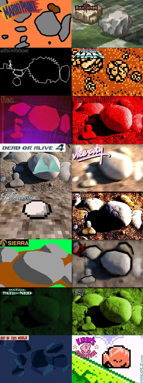 The Many Rocks of Video Games (Part 2)