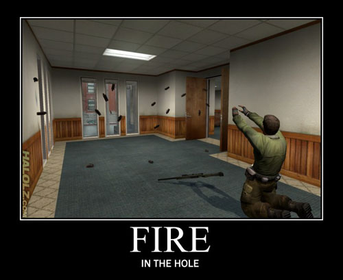 FIRE - IN THE HOLE