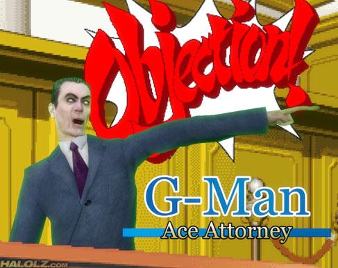 G-Man: Ace Attorney